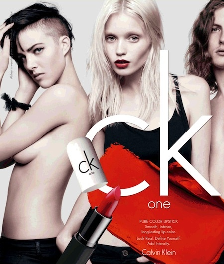 New line of Calvin Klein One Color Cosmetics