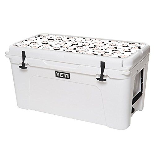 MightySkins Protective Vinyl Skin Decal for YETI Tundra 75 qt Cooler Lid wrap cover sticker skins Raining Cats -- Check this awesome product by going to the link at the image.(This is an Amazon affiliate link and I receive a commission for the sales)