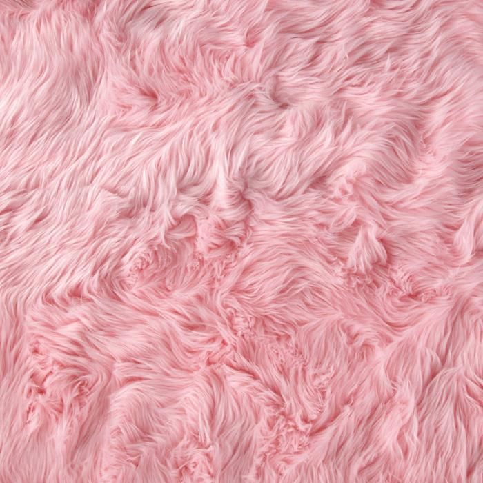 Faux Fur Luxury Shag Baby Pink from @fabricdotcom  This super soft high quality faux fur fabric has a 1 1/2'' long lustrous pile. It's perfect for stuffed animals, costumes, faux fur jackets and vests, pillows and throws.