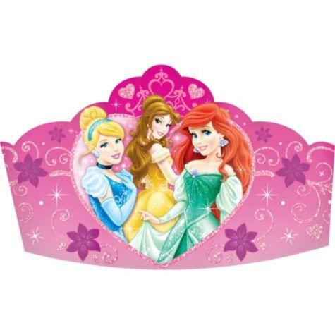 Disney Princess Tiaras 8ct - Party City