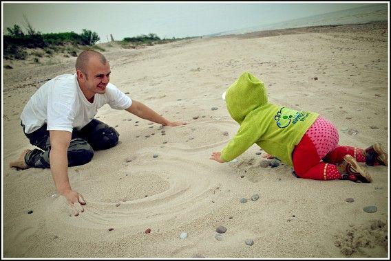 Čiūūūžt per smėliuką...;)