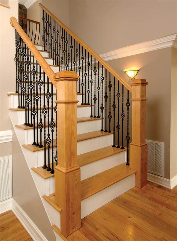 #Vicenza   Forged Iron Stair Parts Are Available In: Flat Black, Nickel And