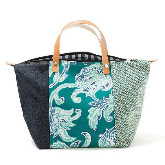 Santorini bolso bolso floral Twill ropa de cama marfil del