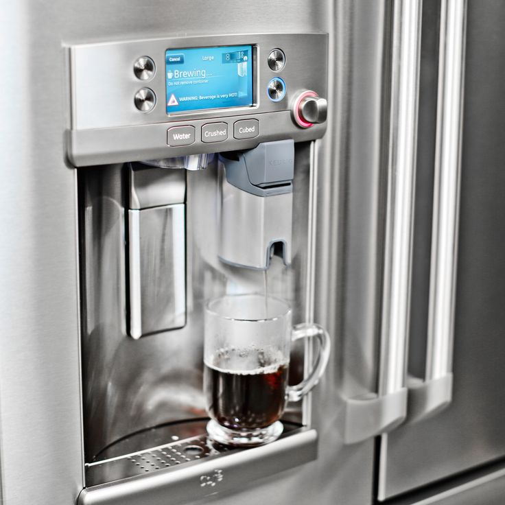 Ge Refrigerator With Keurig Coffee Maker Lowe S : 23 best images about New and Exciting on Pinterest Samsung, Slate appliances and Pedestal