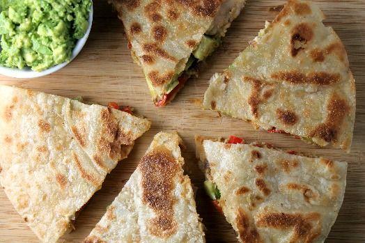 Clean Chicken Quesadillas. Gluten free & Dairy free :)