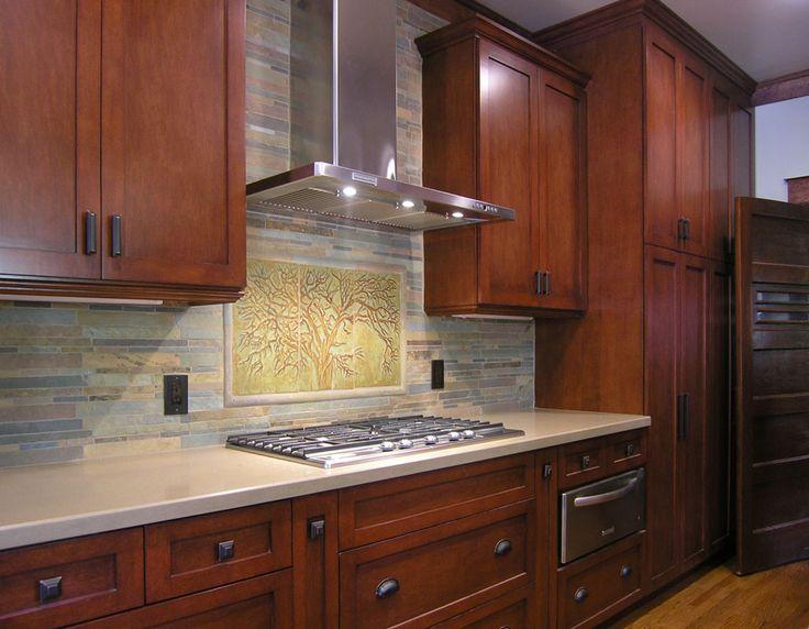 86 best kitchen backsplash images on pinterest tile art art tiles and kitchen backsplash - Exceptional backsplash kitchen interiors artistic look ...