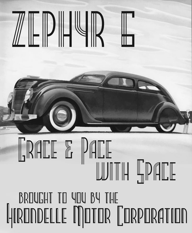 Art Deco Poster Zephyr Painting By Reproduction   Art Deco Poster .