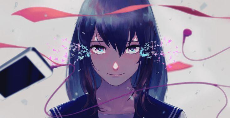 Melancholy 1080p 60 fps wallpaper engine anime animasi