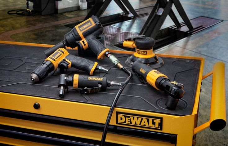 DeWalt Announces New Air Tool Line For Industrial Professionals