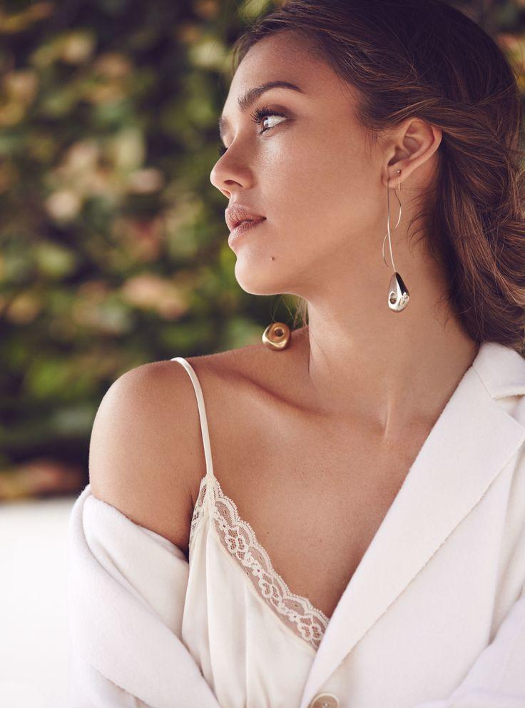 Jessica Alba wearing Leigh Miller | Allure, Sept. 2016