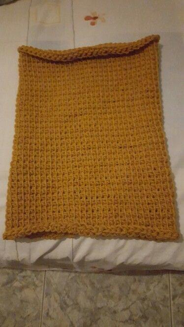 #tunisian_crochet #crochet #madeunique #handmade