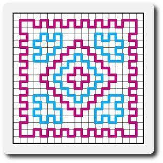 Resultado de imagem para wiggly crochet patterns