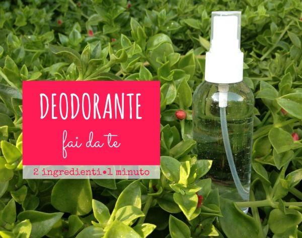 Deodorante corpo fai da te