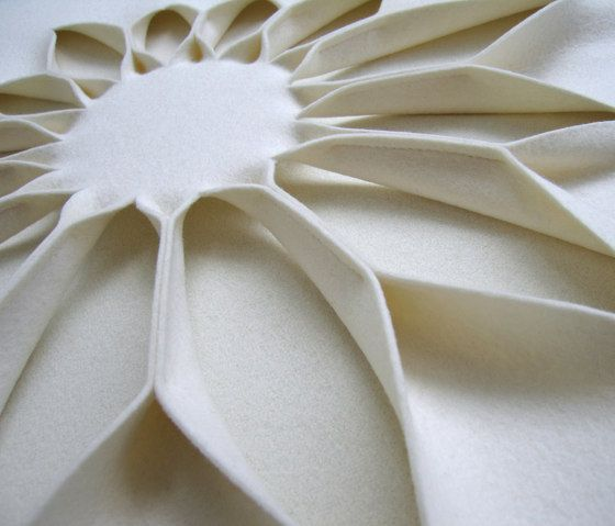 Bloom wall panel by ANNE KYYRÖ QUINN   Acoustic panels / systems   Bespoke fabrics