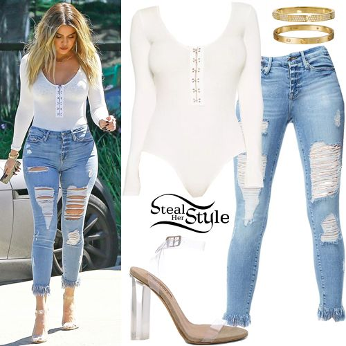 df7b1ca0 Khloe Kardashian Clothes & Outfits | Steal Her Style | Spring Style '18 in  2019 | Khloe kardashian outfits, Kendall jenner outfits, Khloe kardashian  style