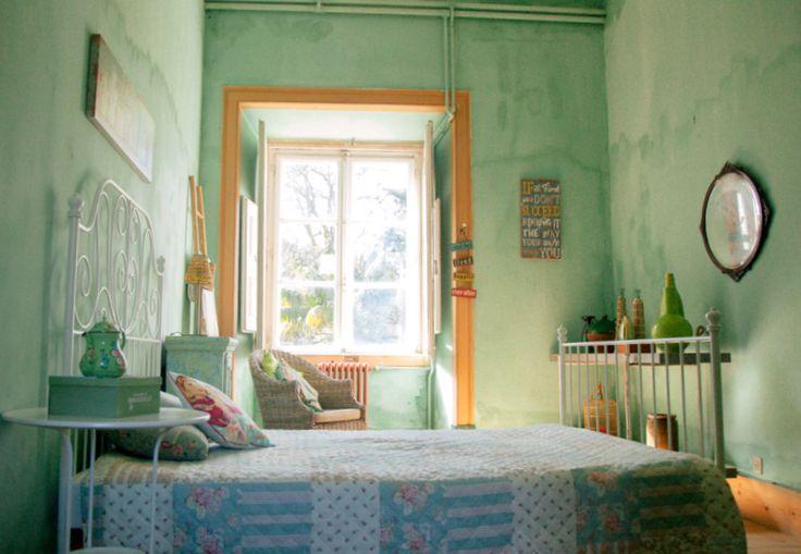 Bedroom n.4 at My Vintage Wedding in Portugal - The Quinta www.myvintagewedd... #thequinta #myvintageweddingportugal #vintagweddinginportugal #weddinginportugal #weddingvillainportugal #vintageweddingvilla #vintagevillainportugal #rusticweddinginportugal #rusticweddingvilla #shabbychicwedding #shabbychicweddinginportugal