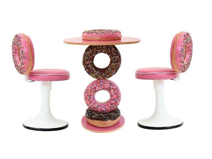 Bon Doughnut Table U0026 Doughnut Chairs For The Bar