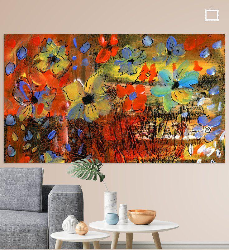 kokette blumen poster claudia grundler ohmyprints kunstproduktion blumenbilder foto auf leinwand drucken günstig