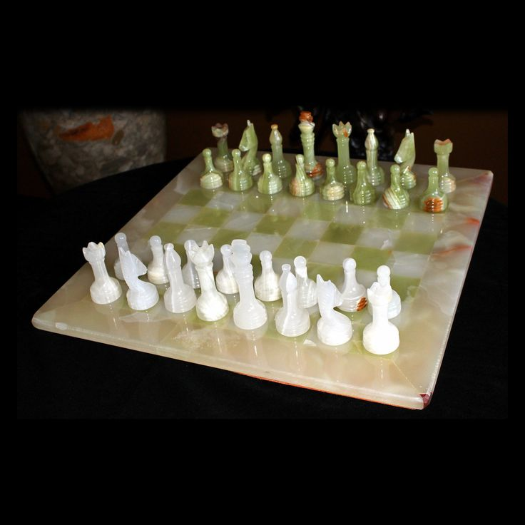 Onyx Chess Set | from hayneedle.com