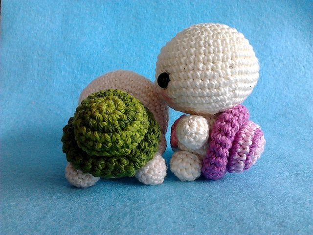 Ravelry: Cute Baby Turtle Amigurumi PDF Pattern pattern by Lucy Rose
