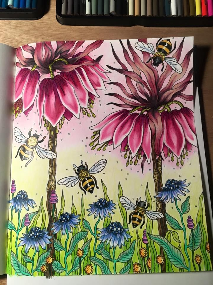 377 best Colored Pages images on Pinterest | Adult coloring ...