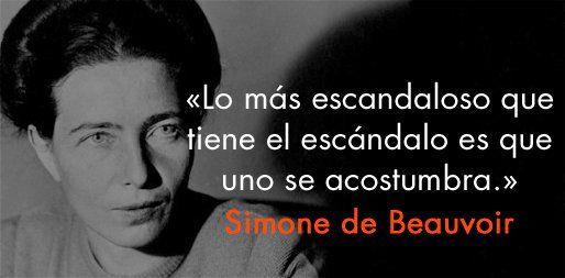 5 frases de Simone de Beauvoir - Revista Glow!