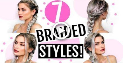 7 HEATLESS LONG BRAIDED HAIRSTYLES FOR LONG/MEDIUM HAIR!   LYSSRYANN