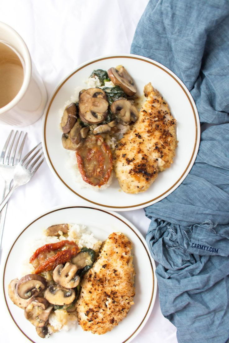 This creamy one pot chicken is made with no cream and packed with flavour! This is the perfect recipe for a lazy dinner under an hour. via @runcarmyrun