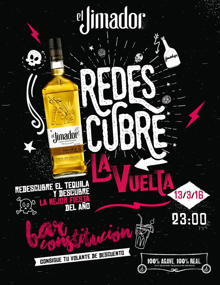 Jimador - Redescubre el Tequila on Behance