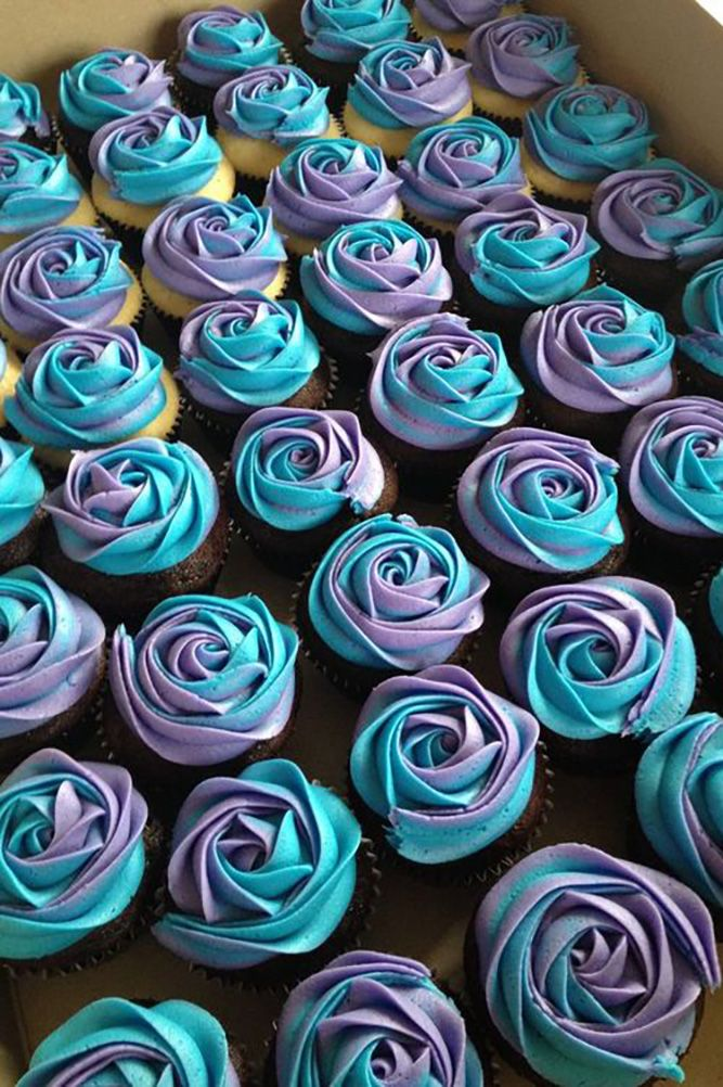 30 Chocolate Wedding Cupcake Ideas You Must See ❤ See more: http://www.weddingforward.com/chocolate-wedding-cupcake/ #weddings #cakes