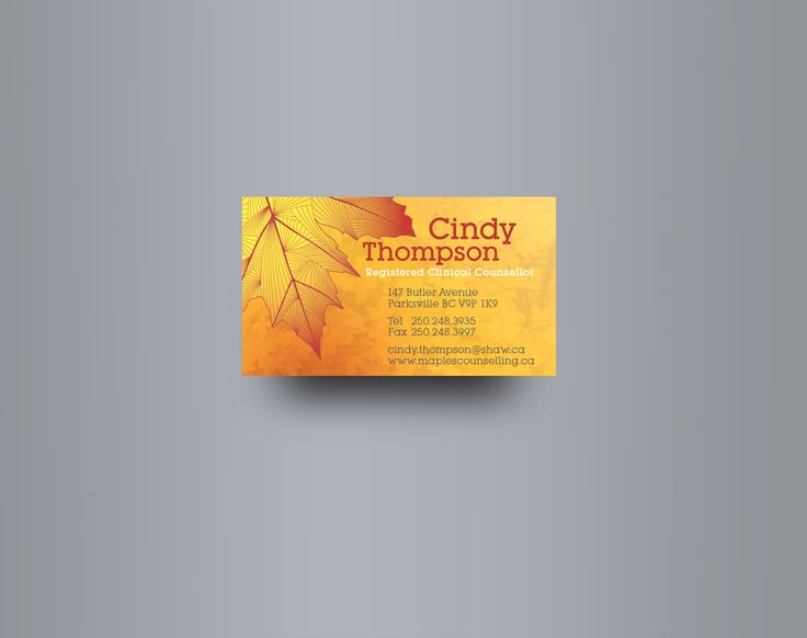 14 best business card images on pinterest business cards canada cindy thomposon registered clinical counsellor on vancouver island bc canada reheart Image collections