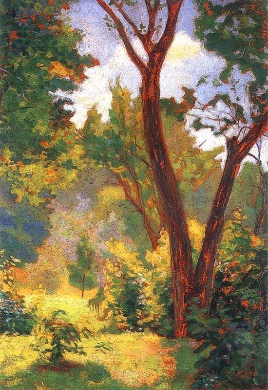 Władysław Podkowiński - Landscape