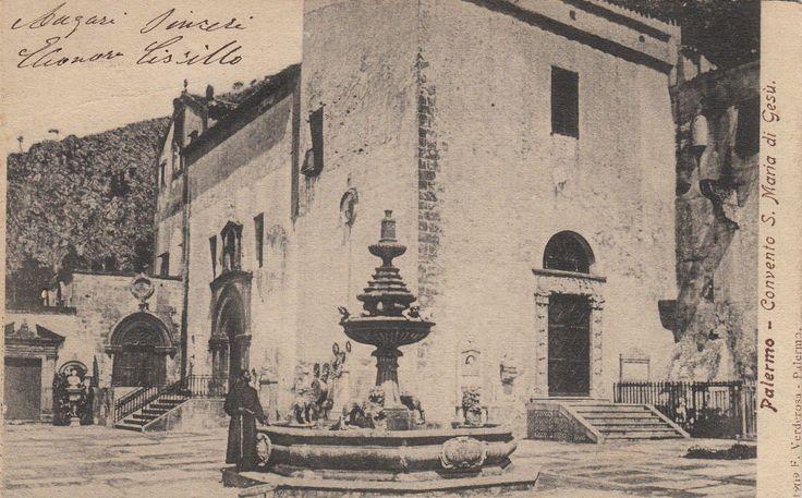 Palermo - Convento S. Maria di Gesù | 1909 F. Verderosa - Palermo