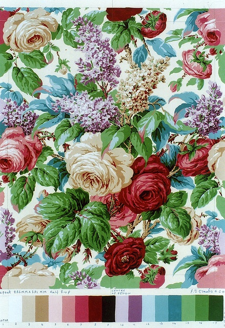 These colors with vintage sheet quilt top!  `http://www.flickr.com/photos/philipjacob..