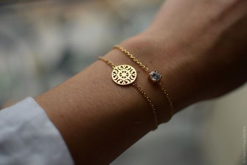 Simple, dainty jewelry