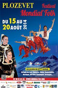 Festival Mondial Flok à Plozévet proche de Quimper dans le Finistère en Bretagne