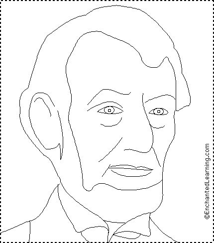 Abraham Lincoln History Timeline   abraham lincoln printout quiz read about lincoln color his picture and ...