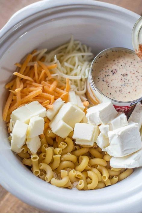 Sara Bell's Weblog: Sluggish Cooker Mac And Cheese