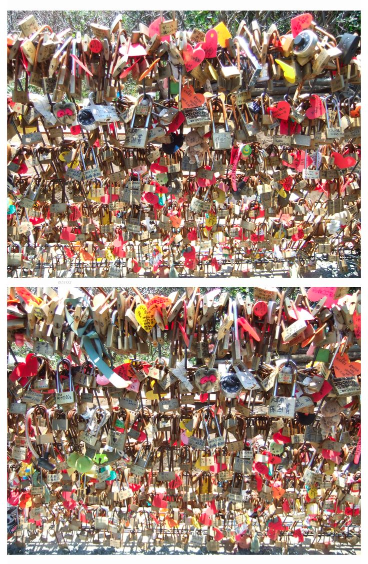 Locked Love, Enoshima, Japan