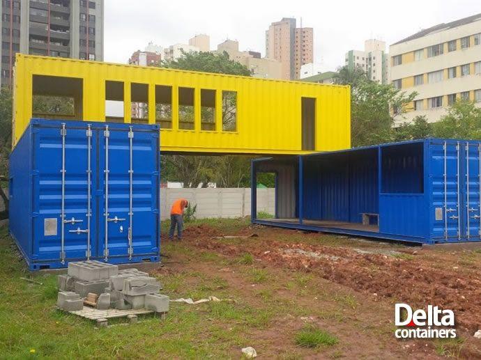 Projetos especiais utilizando containers - Delta Containers
