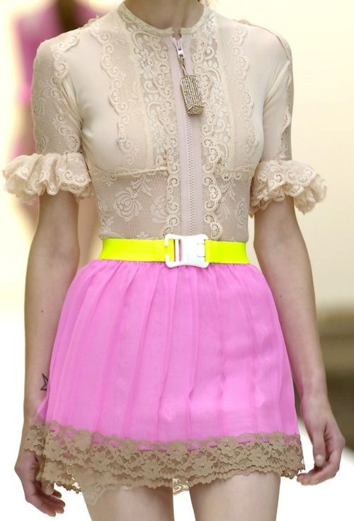 Christopher kane. So cute but I'd have to wear this as a shirt haha!