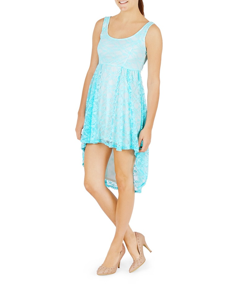 Lace high-low dress - This one I have!