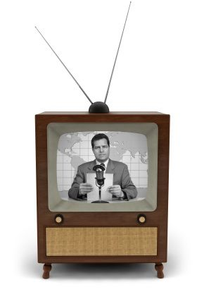 This is exactly like our first TV - it was so exciting to see the antenna on our roof as I came home from school in 1959 :-)!  Time for Howdy Doody!!!