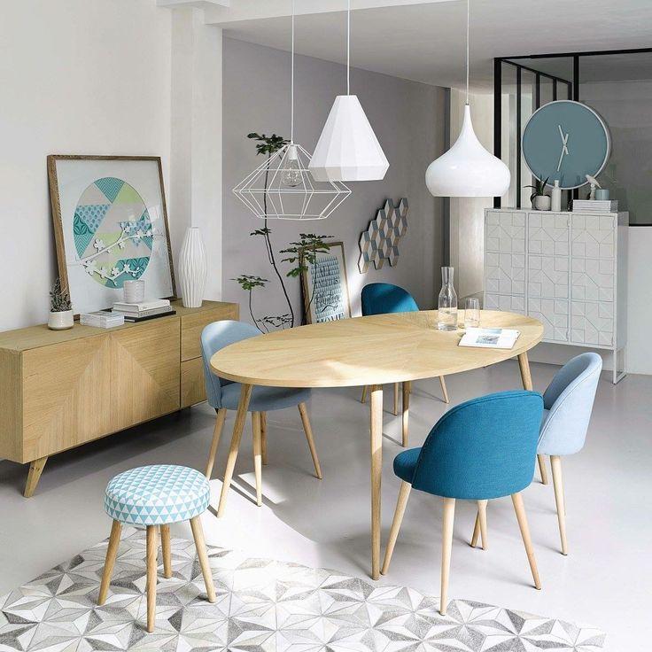 Table salle a manger maison du monde fabulous meuble bas - La salle a manger atelier au style classique chez maisons du monde ...