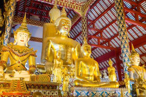 Wat Suan Dok, Thailand | Peter Lam Photography