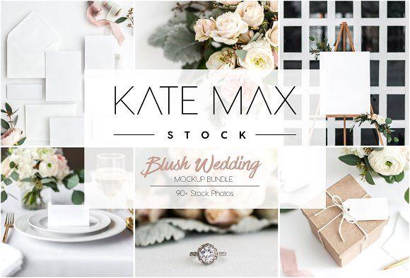 Wedding Stock Photo Mockup Bundle by KateMaxStock on @creativemarket