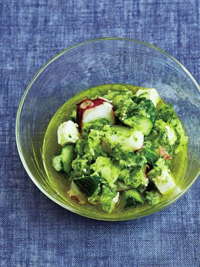突き抜けるようなさわやかさが魅力のサラダ|『ELLE gourmet(エル・グルメ)』はおしゃれで簡単なレシピが満載!