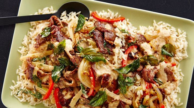 This is one of my favorite things to get when I go out for Thai. It's quick and easy to make, and has a fairly mild flavor.