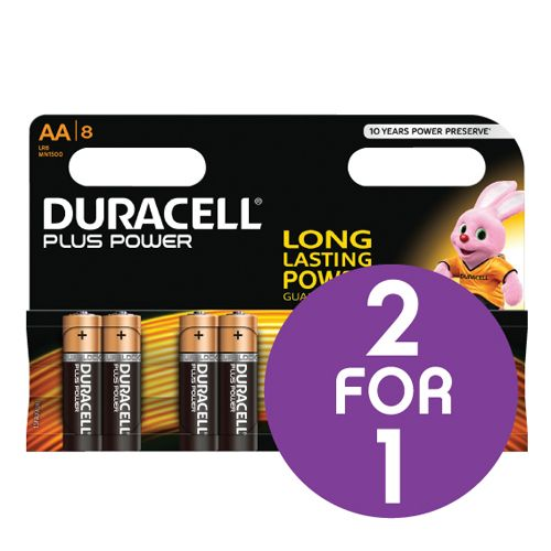 AA Duracell Plus Power Brilliant partner 2 for 1