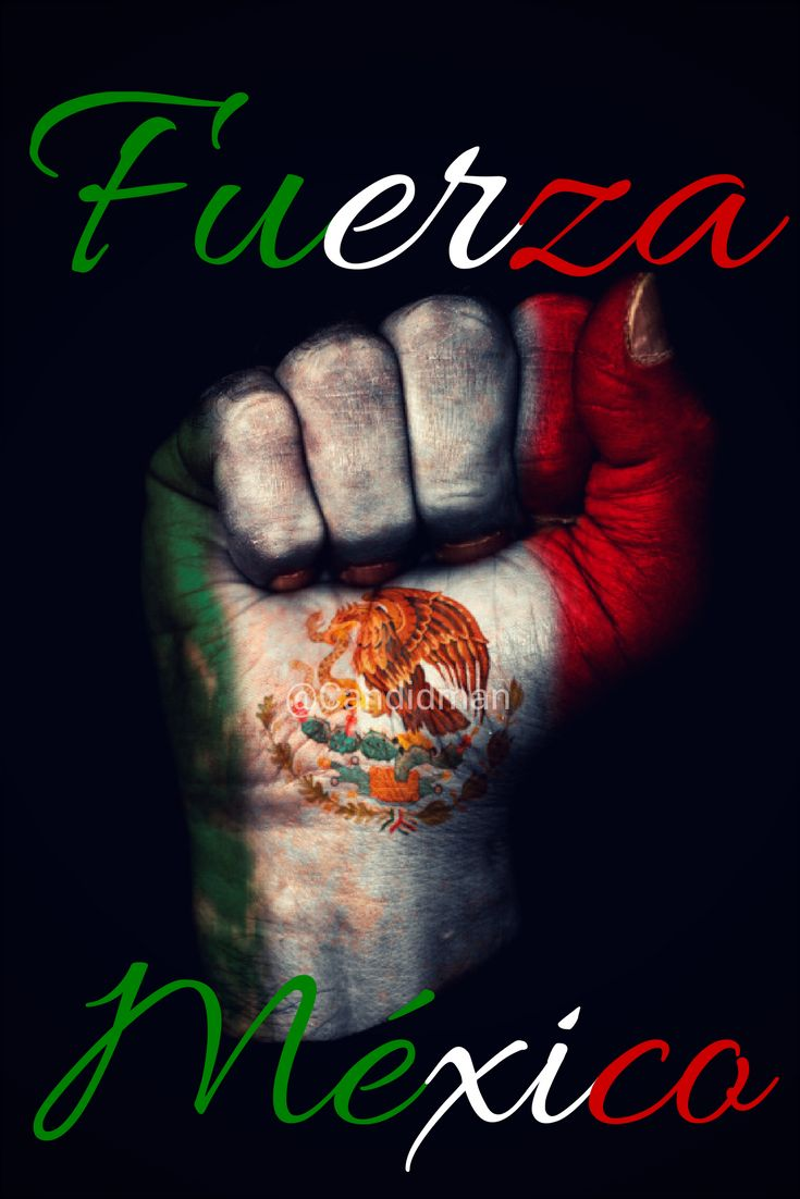 Fuerza México.  @Candidman     #Frases México 19 de Septiembre 2017 Candidman Ciudad de México Fuerza Septiembre Terremoto @candidman
